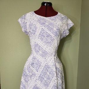 Renee C. Dresses - renee woman short sleeve dress medium elasticwaist